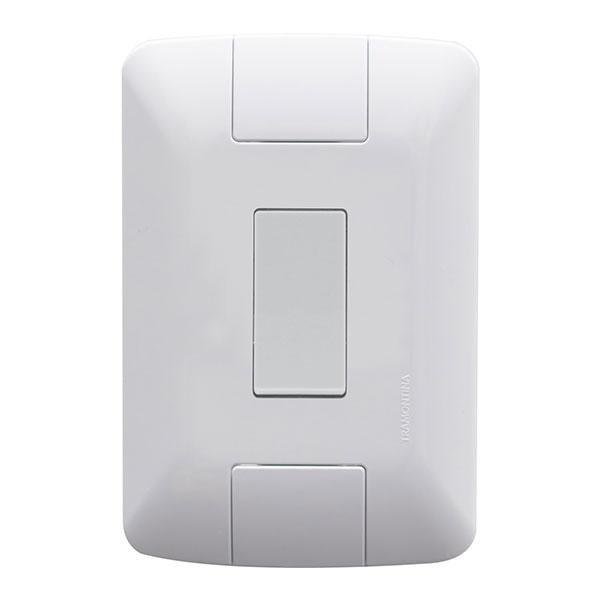 Interruptor Simples 6A 250V Aria Branco 57241/001 - Tramontina