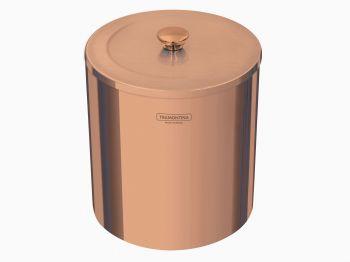 Lixeira Aço Inox Rose Gold 5L C/Pedal 94540/053 Tramontina