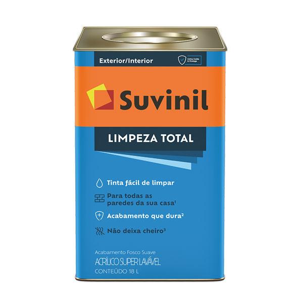 Tinta Acrilica Limpeza Total 18L - Suvinil