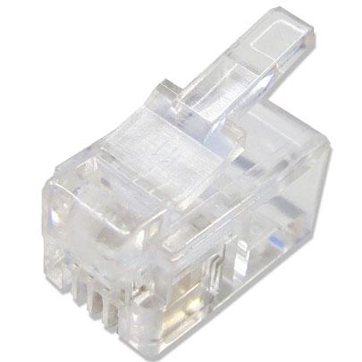 Plug Macho C/ RJ11