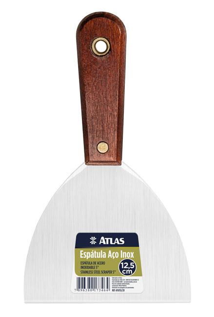 Espatula Aço Inox 12,5cm AT6155/20 - Atlas
