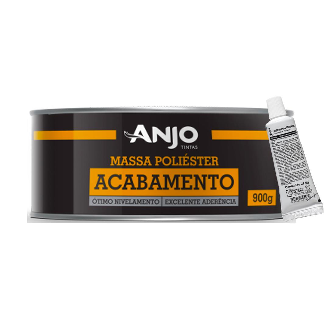 Kit Massa Poliéster Acabamento 900ML - ANJO