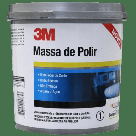 Massa de Polir Premium 1kg - 3M