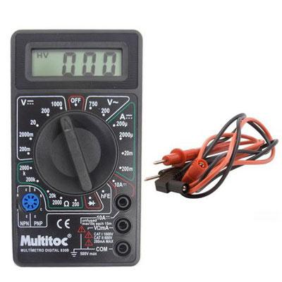 Multimetro Digital Eletronico - Multitoc