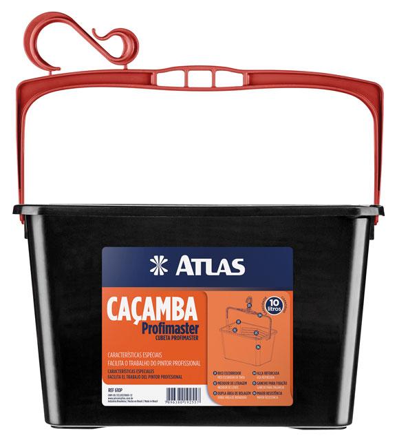 Caçamba para Pintura 11L 610P - Atlas