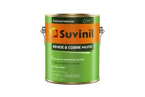 Tinta Acrilica Rende e Cobre Muito 3,6L - Suvinil