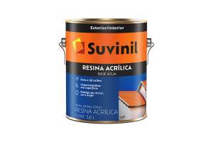 Resina Acrilica Base Água 3,6L - Suvinil