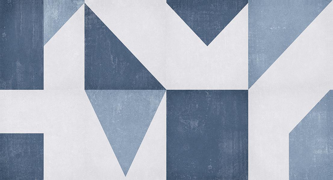 Revestimento Monopo Angoli Blu 32X60 Comercial - BIANCOGRE