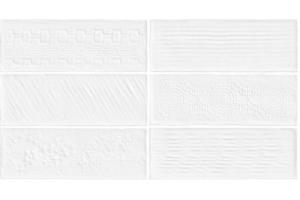 Revestimento Monoporoso Retificado Laterizi Lux Bianco 32x60 A - Biancogres