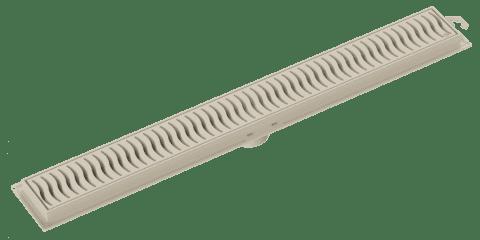 Grelha Ralo Linear 50cm Areia - Tigre