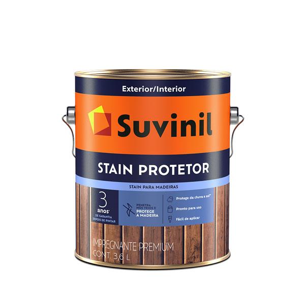 Verniz Stain Protector Acetinado 3,6L - Suvinil