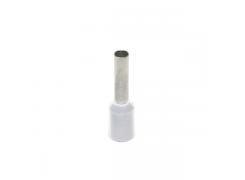 Terminal Tubular p/Cabo 0,50mm BCO
