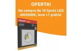 Spot LED COB Supimpa Quadrado Bivolt 5W - Avant