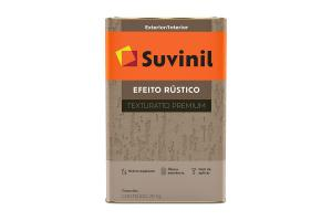 Texturatto Rustico Efeito Rustico 18L Branco - Suvinil