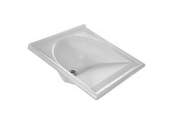 Tanque Thermo Fibra Simples Branco - Decoralita