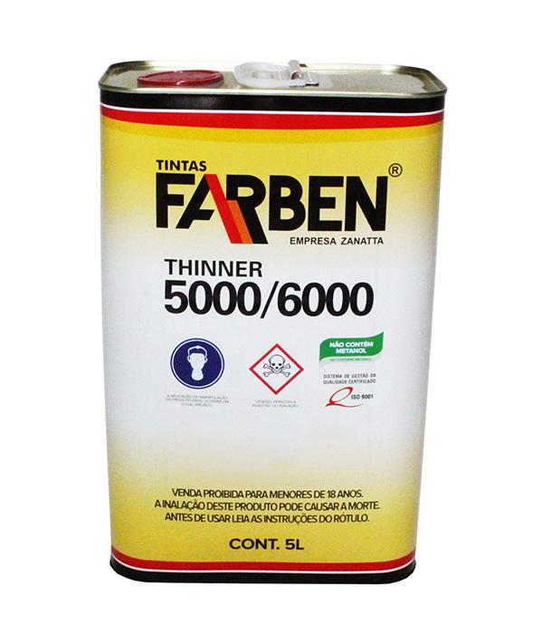 Thinner Comum 5000 5L - Farben
