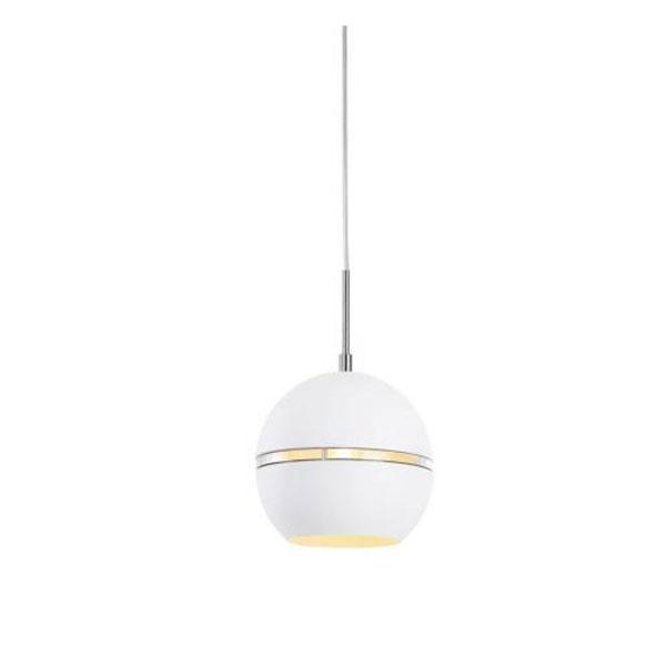 Pendente Aluminio Globo White 1XE27 - Avant