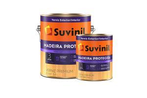 Verniz Marítimo Madeira Protegida Acetinado 900ml/3,6L - Suvinil