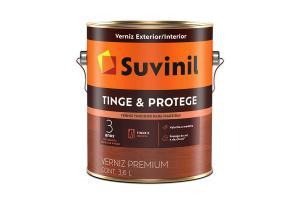 Verniz Tinge e Protege Brilhante 3,6L - Suvinil