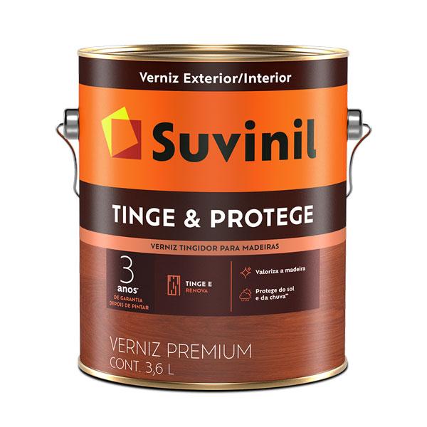 Verniz Tinge e Protege 3,6L - Suvinil