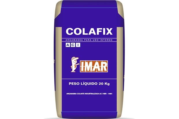 Argamassa Colante AC I 20kg Cinza - IMAR
