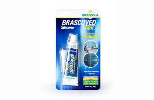 Silicone Brascoved Super Transparente 50g - Brascola