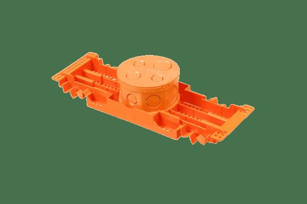 Caixa Octogonal Fundo Movel c/ Suporte 4x4 - Tigre