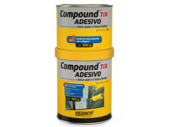 Compound Adesivo 1KG TIX  A+B - Vedacit