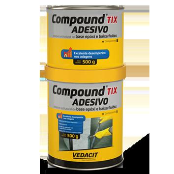 Compound Adesivo 1KG TIX  A+B - Vedacit