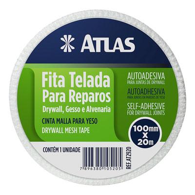 Tela Poliester 10cm 20m - Atlas