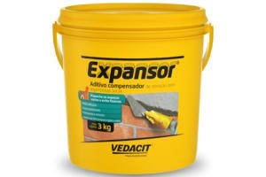 Expansor para Argamassa 3KG   OTTO - Vedacit