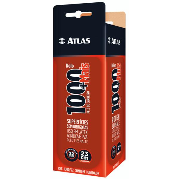 Rolo de Lã 1000 +Mais 23cm 1000/22 - Atlas