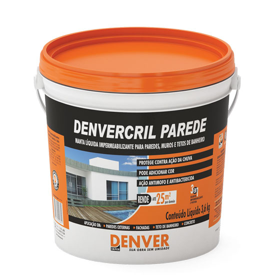 Vedapren Denvercril Parede 3,6KG - Denver
