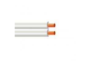 Fio Paralelo Branco 2x1.00mm 1MT Condumig