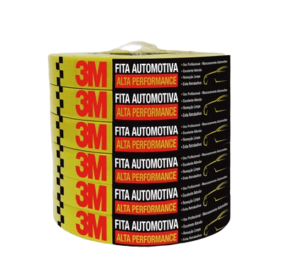 Fita Crepe Alta Performance 24mm x 50m - 3M