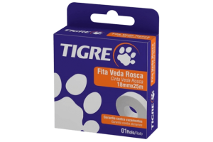 Fita Veda Rosca Aquatherm 18mm - Tigre