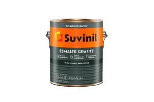 Esmalte Sintético Grafite 3,6 Fosco - Suvinil