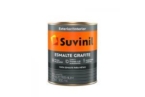 Esmalte Sintético Grafite 900ml Fosco - Suvinil