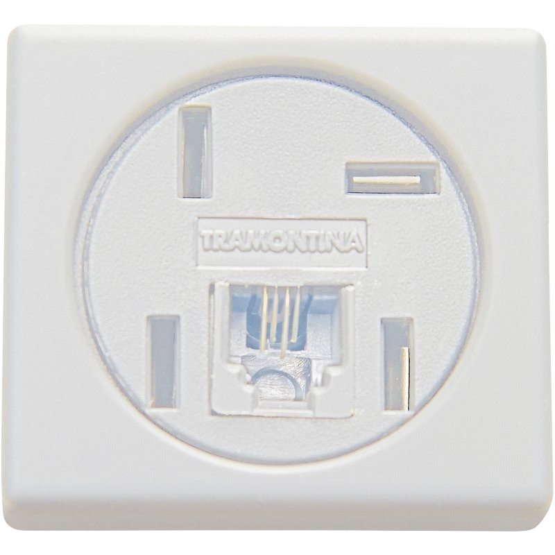 Modulo Tomada Telefone 4P RJ11 Lux  57115/050 Tramontina