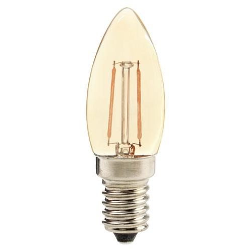 Lâmpada LED Vela Retrô 2W E27 127V AMB2200K - Avant