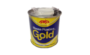Kit Massa Plastica Branca 800g - Gold