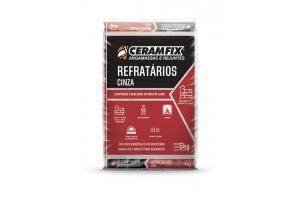 Argamassa Refrataria Cinza 1kg - Ceramfix