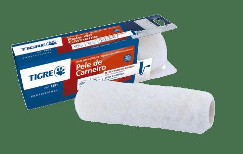 Rolo de lã Extra 23cm 25mm - Tigre