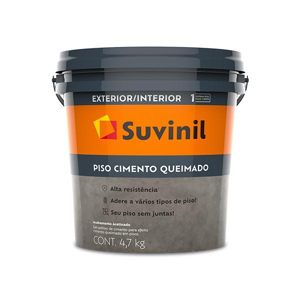 Piso Cimento Queimado 4,7kg - Suvinil
