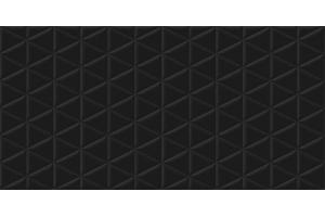 Porcelanato Acetinado Retificado Matelasse Black 53x106