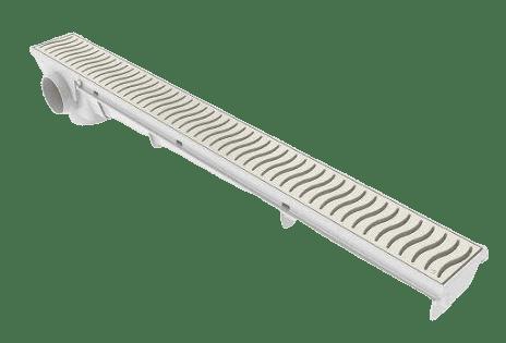 Ralo Linear 50cm c/ Grelha Areia - Tigre