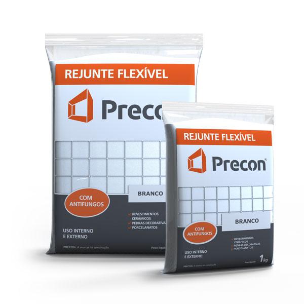 Rejunte Flexivel 1kg Branco - PRECON