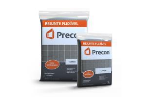 Rejunte Flexivel 1kg Cinza - PRECON