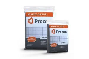 Rejunte Flexivel 1kg Platina - PRECON