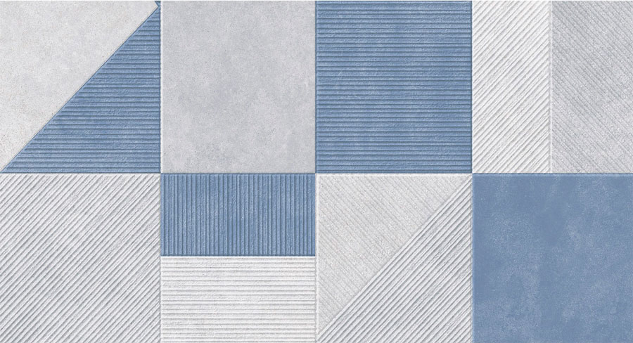Revestimento Monoporoso Bardush Blu 32x60 A - Biancogres